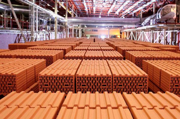 Кузьминецкий крипичный завод — блоки Кератерм. Готовая продукция