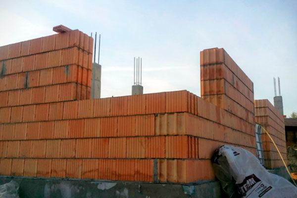 Ошибки при строительстве из керамоблоков. Фото, статьи