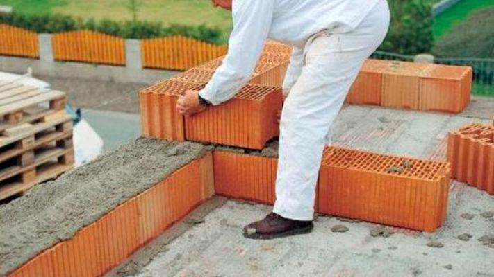 смесь для кладки керамических блоков. Фото, статьи
