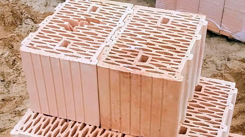 Керамоблок Кератерм или кирпич. Фото, статьи