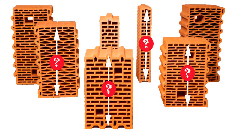 Який вибрати розмір керамоблока? Фото, статті